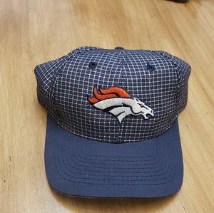 NFL Broncos Plaid Hat